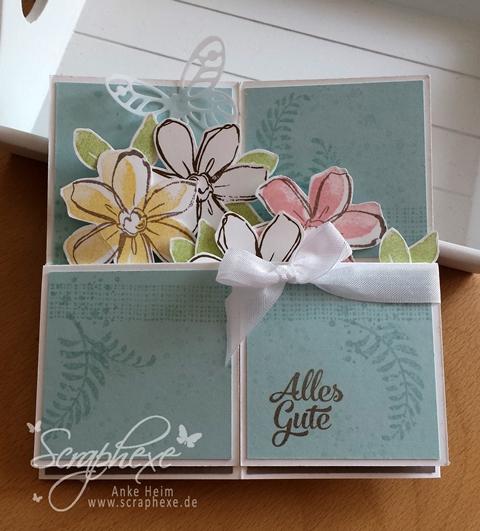 Card in a Box, Anleitung, scraphexex