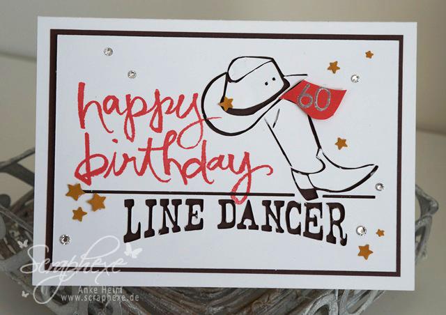 Geburtstag, Linedance, scraphexe