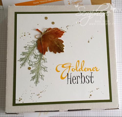 Vintage Leaves, Herbst, scraphexe