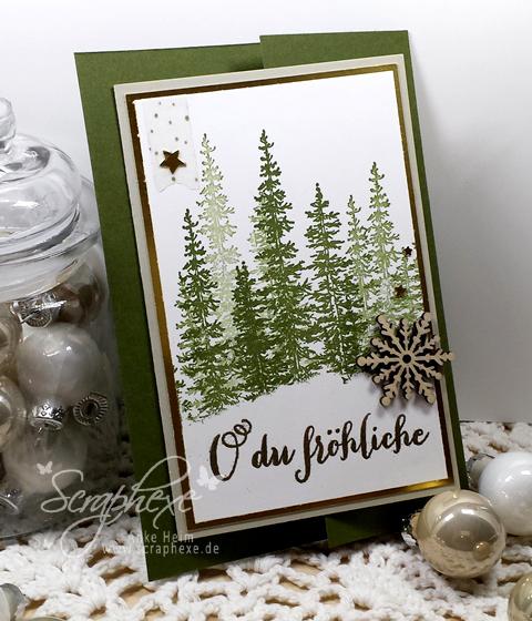 Adventskalender, Weihnachtskarte, scraphexe