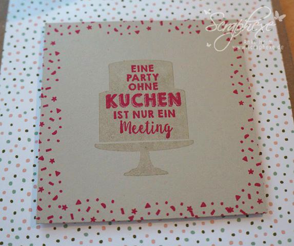 Geburtstagsblumen, Explosion Box, scraphexe.de