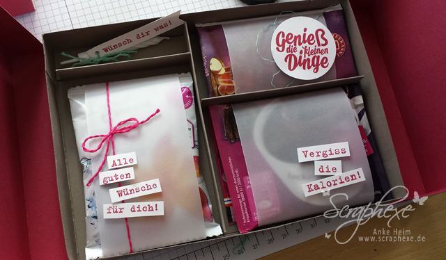 Geschenkbox, Geburtstag, scraphexe