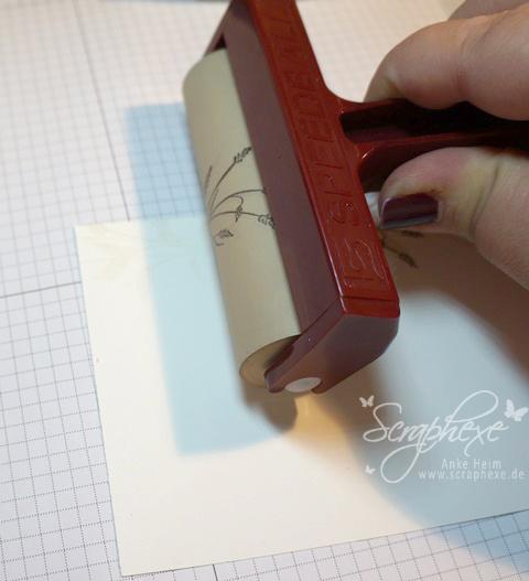 Spiegeln, Stempeltechnik, scraphexe