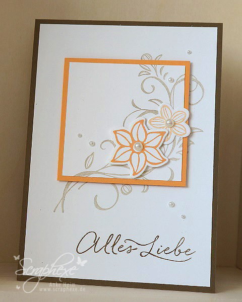 Falling Flowers, Stampin' Up!, scraphexe