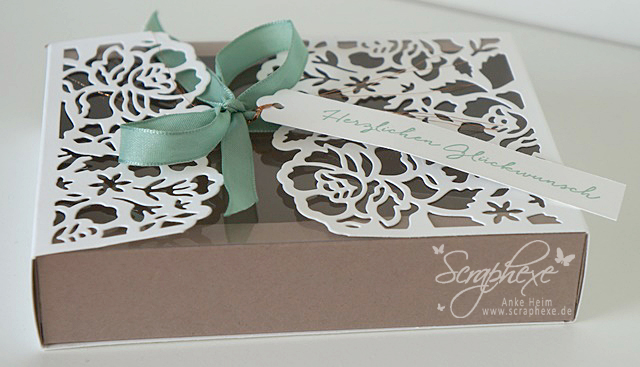 Florale Grüße, Box, Tutorial, Stampin' Up!, scraphexe.de