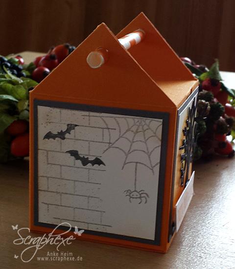 Strohhalmbox mit Anleitung, Halloween, scraphexe.de