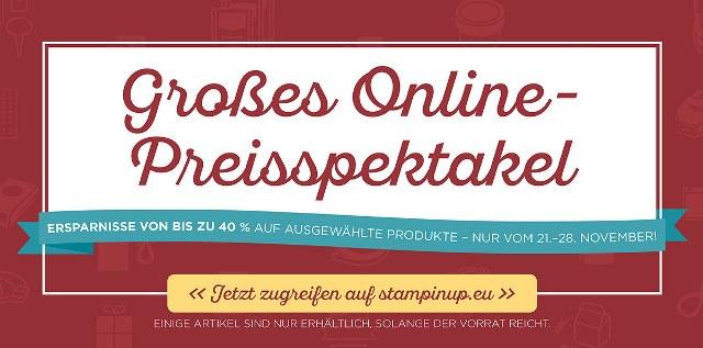 Online-Preisspektakel