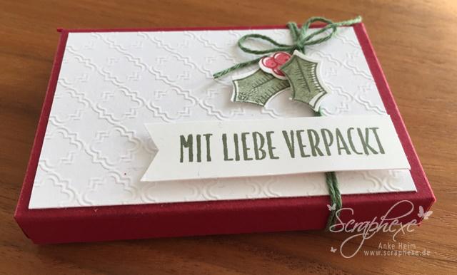 Drauf und Dran, Adventsgrün, Geschenkgutschein, Stampin' Up!, scraphexe.de