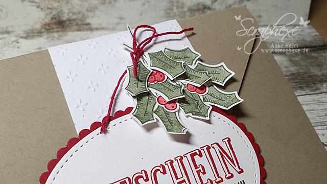 Geschenk deiner Wahl, Adventsgrün, Geschenkgutschein, Stampin' Up!, scraphexe.de