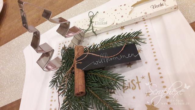 Weihnachten, Tischdeko, scraphexe.de