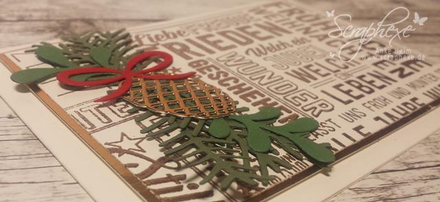 Weihnachtspotpourri, Thinlits Tannen und Zweige, scraphexe.de