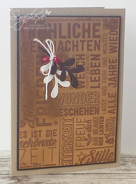 Weihnachtspotpourri, Kupfer, Embossing, scraphexe.de