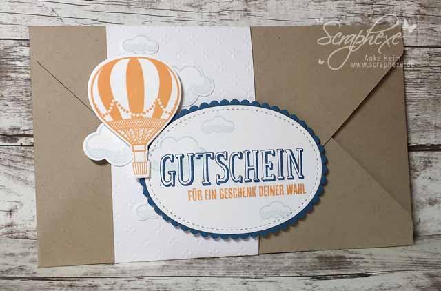Abgehoben, Gutschein, Stampin' Up!, scraphexe.de